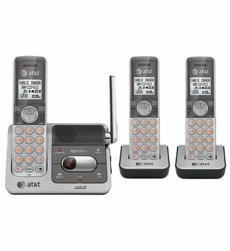 ATT-CL82301 DECT 6.0 LINE 1 CORDLESS PHONE WITH CALLER ID (THREE HANDSET)