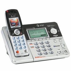 ATT-EP5632 5.8GHz Bluetooth Enabled Expandable Cordless System with Digital Answering Machine
