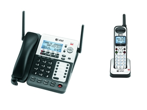 ATT-SB67118 4-line Expandable Corded/Cordless System with Answering System and Handset