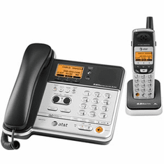 ATT-TL76108 5.8GHz 2-Line Corded/Cordless Phone System with ITAD