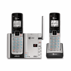 ATT-TL92273 DECT6.0 Dual Handset Connect to Cell with Bluetooth