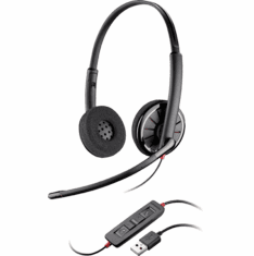 BLACKWIRE 300 SERIES USB CORDED HEADSET