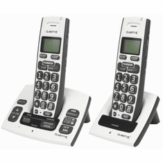 Clarity D613C DECT 6.0 Expandable Amplified Cordless Telephone Combo Pack including the D613 and D613HS