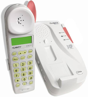 Clarity Professional C4210 Amplified Cordless Phone with DCP