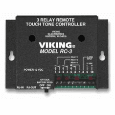 Control up to 3 Relay Contacts Remotely
