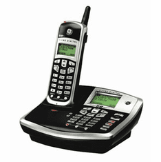 GE-25865GE3 5.8GHz 2-Line Expandable Cordless Telephone with Digital Answering System