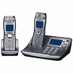 GE 28128EE2 DECT 6.0 Cell Fusion with Answering System Silver