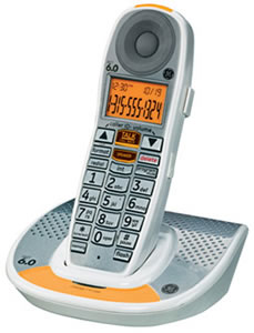 GE-29111AE1 DECT6.0 Amplified Expandable Cordless Phone