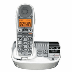 GE-29115AE1 DECT6.0 Amplified Expandable Phone Digital with Answering System