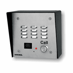 Handsfree Speaker Phone with Built-In Auto-Dialer, Color Video Camera and Enhanced Weather Protection