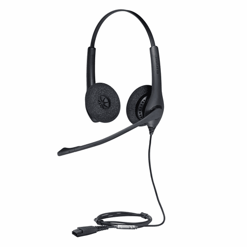 Jabra BIZ 1500 Duo Headset with Noise-Cancelling Microphone