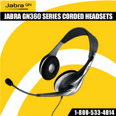 Jabra GN360 SERIES CORDED HEADSETS