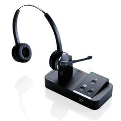 Jabra PRO 9450 Duo Headset with Flex-boom and Base unit