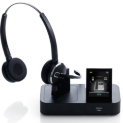 Jabra PRO 9465 Duo Headset & 2.4 Touch Screen with Base,Jabra PRO 9465 Duo Headset & 2.4 Touch Screen with Base