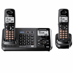 KX-TG9382T 2-Line DECT 6.0 Expandable Cordless Phone with ITAD and 2nd Handset