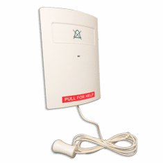miALERT AP Patient unit hard wired pull cord w/wireless cancel (supporting HW