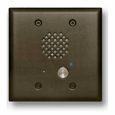 Oil Rubbed Bronze Double Gang Entry Phone with LED and Enhanced Weather Protection