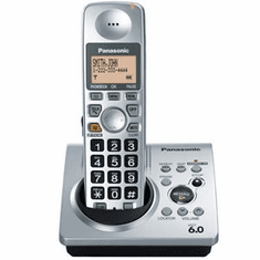 Panasonic KX-TG1031S DECT 6.0 Expandable Cordless Phone with Answering System
