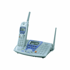 Panasonic KX-TG2740S 2-Line 2.4GHz GigaRange Expandable Cordless Phone System with Digital Answering