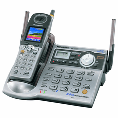 Panasonic KX-TG5576M 5.8 GHz Expandable Cordless Answering System with Color LCD