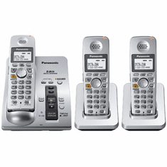 Panasonic KX-TG6053S 5.8GHz 3 handsets & ITAD Exp to 4 handsets
