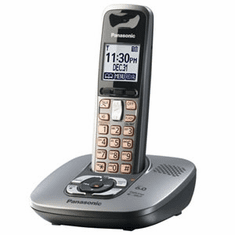 Panasonic KX-TG6431M DECT 6.0 Expandable Cordless Phone with Answering System