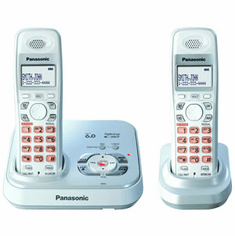 Panasonic KX-TG9332S DECT 6.0 Dual Cordless Handset Expandable with Digital Answering System