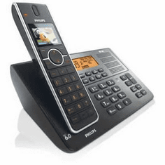 Philips PHIL-SE6581B DECT 6.0 Expandable Cordless with Digital Answering System