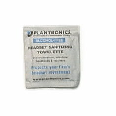 Plantronics 77684-01 Headset Cleaning Towelette