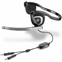 Plantronics .Audio 340 Behind-The-Head Stereo Computer Headset