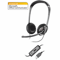 Plantronics Blackwire C420M Corded Headset Optimized for Microsoft