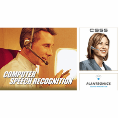 Plantronics Computer Headsets for Speech Recognition