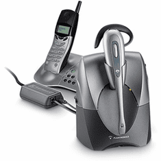 Plantronics CS55H Wireless Headset with PSTN for Cordless Phones