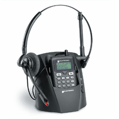 Plantronics CT12 2.4GHz Cordless Headsets with Secure Digital Spread Spectrum