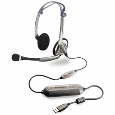 Plantronics DSP-400 Digitally-Enhanced USB Stereo Computer Headsets
