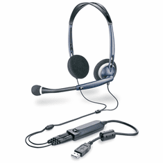 Plantronics DSP200 Stereo PC Headset with 3.5mm to USB Adapter
