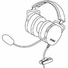 Plantronics SHR2261-01 Ruggedized Headsets for Voice Recognition