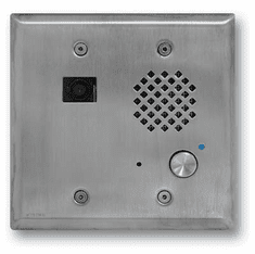 Stainless Steel Double Gang Entry Phone with Color Video Camera