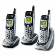 Uniden DXI5586-3CS 5.8GHz Analog with 3 Handsets
