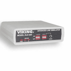 Viking Electronics DLE-300 Advanced Line Simulator for Communication, High Speed Data, Caller ID and Classroom Training
