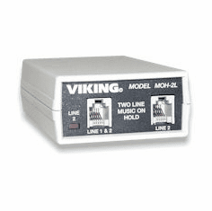 Viking Electronics MOH-2L 2 Line Music on Hold System