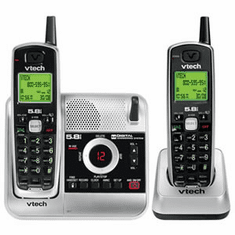 VTech VT-CS5121-2 5.8GHz Dual Handset Cordless with Digital Answering System