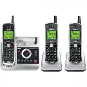 VTech VT-CS5121-3 5.8GHz 3 Handset Cordless Phone with Digital Answering System