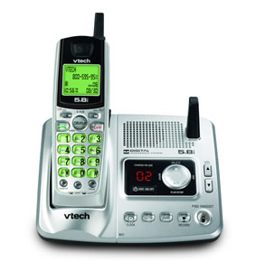 VTech VT-IA5863 5.8GHz Analog Cordless Phone with Answering System