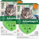 12 MONTH Advantage II Flea Control for Small Cats (5-9 lbs)