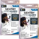 Sentry Fiproguard for Dogs 89-132 lbs Topical Flea & Tick Treatment, 12 Ct