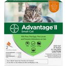 Advantage II Flea Control for Small Cats 5-9 lbs, 2 Month
