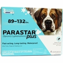 3 MONTH Parastar PLUS for Dogs - Blue (89-132 lbs)