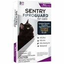 3-PACK Fiproguard Flea & Tick Squeeze-On for Cats
