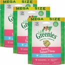 Greenies Feline Dental Treats - Savory Salmon Flavor 3-Pack (13.8 oz)